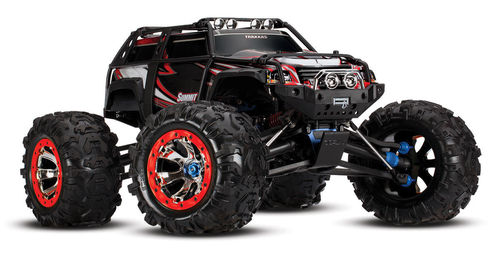 Traxxas Summit 1/10 Scale 4WD Extreme Terrain Monster Truck With 12V 4A Charger (Musta)
