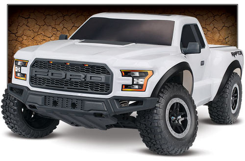 Traxxas Ford F-150 Raptor 2WD 1:10 RTR Shot Course Truck